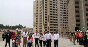 El presidente de Perú, Martín Vizcarra, destacó este viernes que se haya conseguido construir la villa de los Juegos Panamericanos de Lima 2019 en dos años y vaya a estar lista cinco meses antes de que comiencen las competencias.