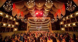 Vista general del vals durante la inauguración del Baile de la Ópera de Viena el año pasado. EFE/Archivo