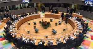 Vista general de la cumbre del Consejo Europeo en Bruselas (Bélgica). EFE/Archivo