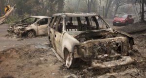 En la imagen, daños causados por el incendio conocido como Camp Fire en California (EE.UU.). EFE/Archivo