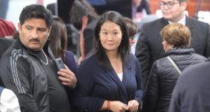 La líder opositora de Perú Keiko Fujimori. EFE/Archivo