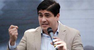 En la imagen, el presidente costarricense, Carlos Alvarado. EFE/Archivo