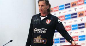 Ricardo Gareca, seleccionador de Perú. EFE/Archivo