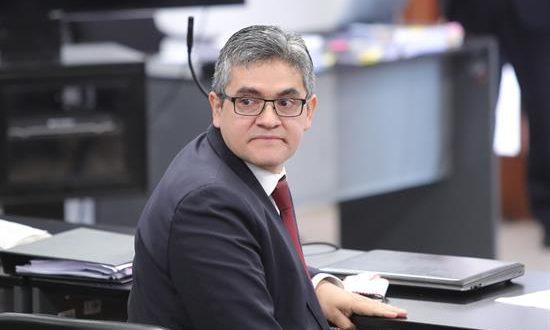 En la imagen, el fiscal anticorrupción peruano José Domingo Pérez. EFE/Archivo