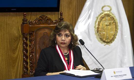 La nueva fiscal general de Perú, Zoraida Ávalos. EFE/Archivo