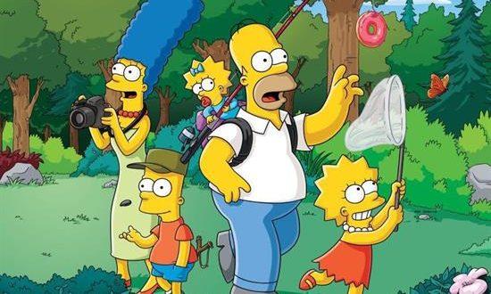 """Imagen facilitada por Atresmedia de una de las familias más queridas de la televisión, """"Los Simpson"""", que celebran este viernes su Día Internacional cumpliendo 32 años y con maratones de episodios en Neox y FOX. EFE"""
