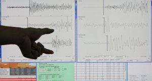 Según el Centro Sismológico de la Universidad de Chile, la sacudida de tierra se produjo a las 14.57 hora local (18.57 GMT) y su epicentro se localizó en el desierto, a 40 kilómetros al suroeste de Ollagüe, en la región de Antofagasta. EFE/Archivo
