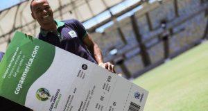 Este será el penúltimo paquete de entradas que serán comercializadas al público en general para alguno de los 26 partidos del torneo de selecciones más antiguo del mundo. EFE/Archivo
