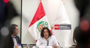 La ministra peruana del Ambiente, Fabiola Muñoz. EFE/Archivo