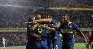 Boca, que el próximo jueves definirá la Supercopa Argentina ante Rosario Central, se impuso en Mendoza con goles de Cristian Pavón y Emanuel Más, mientras que el uruguayo Miguel Merentiel anotó para los locales. EFE/Archivo