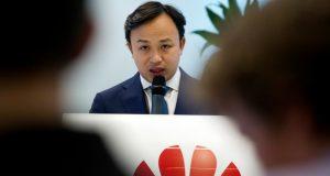 El representante de Huawei para la Unión Europea, Abraham Liu