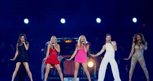 ARCHIVO- Las Spice Girls se presentaron en la ceremonia de clausura de los Juegos Olímpicos de Londres 2012. Estadio Olímpico, Londres, 12/8/12. REUTERS/Stefan Wermuth.
