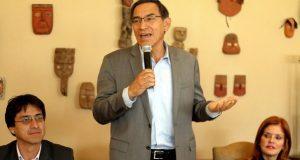 Martín Vizcarra promete más presupuesto para el sector agrícola