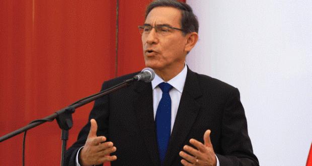 Martín Vizcarra asegura que bancadas están a favor de la reforma política