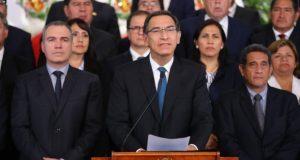 El presidente Vizcarra terminó imponiendo un referéndum del que no hemos sacado nada que valga la pena.(Foto: Presidencia)