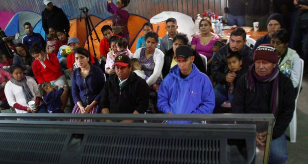 Imagen ilustrativa. Migrantes centroamericanos en Tijuana, México