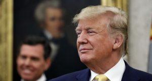 """El presidente de EE.UU., Donald Trump, dijo que Irán """"cometió un error muy grave"""" al derribar dron de Estados Unidos."""