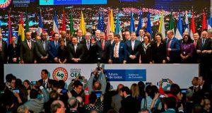 """Los países que suscribieron la resolución, reiteraron su apoyo a la delegación de Guaidó """"hasta que se celebren nuevas elecciones""""."""