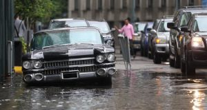 La región no solo se enfrenta a importantes inundaciones sino también a la posibilidad de que el crecido río Mississippi sobrepase los diques. Foto: Reuters
