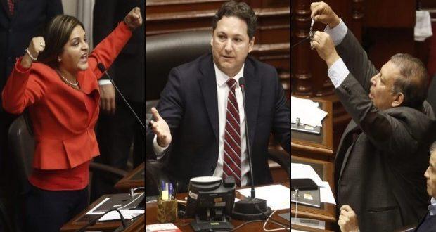 Karina Beteta ofuscada, la alerta de Salaverry y Arana y sus esposas. (Fotos: César Campos)