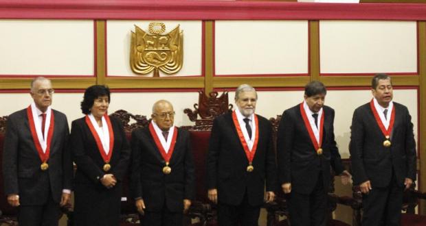 El Tribunal Constitucional había anunciado su retiro del Consejo para la Reforma del Sistema de Justicia. (Foto: GEC)