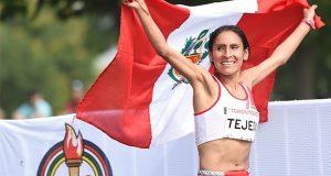 Se recomienda que mientras se esté corriendo la maratón, no interferir en el circuito de competencia.