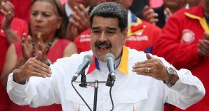 El presidente venezolano, Nicolás Maduro, en Caracas el 20 de mayo de 2019.