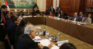 La Comisión de Constitución aprobó el dictamen sobre la inmunidad parlamentaria, el cual difiere del proyecto que presentó el Ejecutivo. (Foto: Congreso)