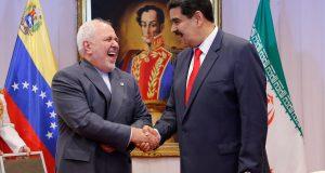 Nicolás Maduro y Mohammad Javad Zarif durante su reunión en Caracas, 20 de julio de 2019. / Reuters
