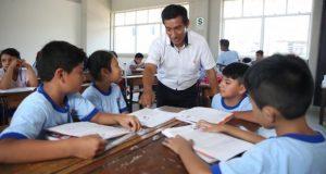 Educación se lleva la mayor parte de los recursos. Para el 2020, tendría un presupuesto de S/31,328 millones. (Foto: Difusión)