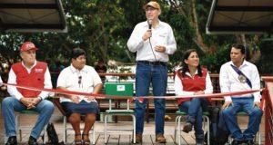 El presidente Martín Vizcarra tuvo ayer actividades en la región Loreto. (Foto: Presidencia de la República)