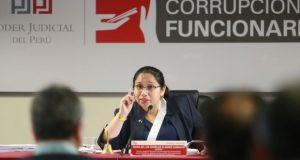 Jueza María Álvarez Camacho dirigió audiencia el viernes pasado para revisar pedido de la fiscalía. (Foto: Juan Ponce/Archivo El Comercio)