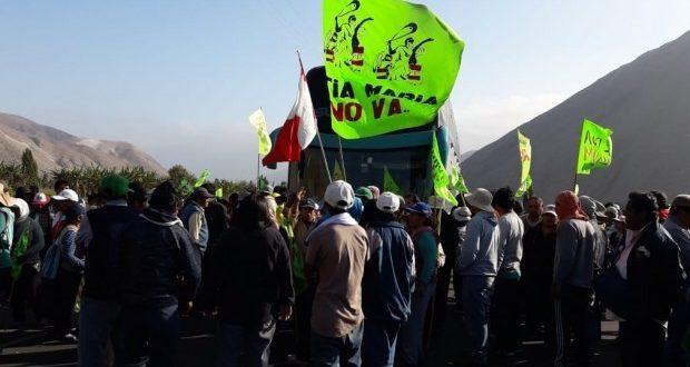 Diferentes gremios adscritos a la Federación Departamental de Trabajadores de Arequipa (FDTA) y asociaciones civiles paralizarán sus actividades. (Foto: Zenaida Condori)