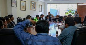 Reunión se llevó a cabo este miércoles. (Foto: Municipalidad Provincial de Arequipa)