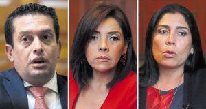 Torres, Aramayo y Letona no presidirán comisiones ordinarias y tampoco integrarán la Permanente.