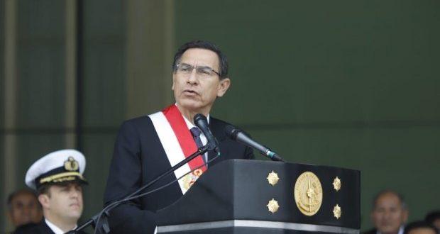 El presidente Martín Vizcarra aceptó dialogar con Pedro Olaechea en una fecha por definir pero en Palacio de Gobierno. (Foto: Difusión)
