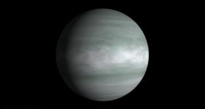 El planeta HD 156411b, es un gigante gaseoso un poco más grande que Júpiter. (Foto: NASA)