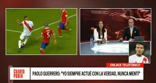 Paolo Guerrero mostró su consternación tras conocer versión de los ex trabajadores del Swissotel.